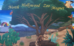 Mural at North Hollywood High School Zoo Magnet