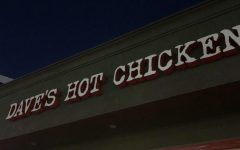 The outside of Dave's Hot Chicken in North Hollywood