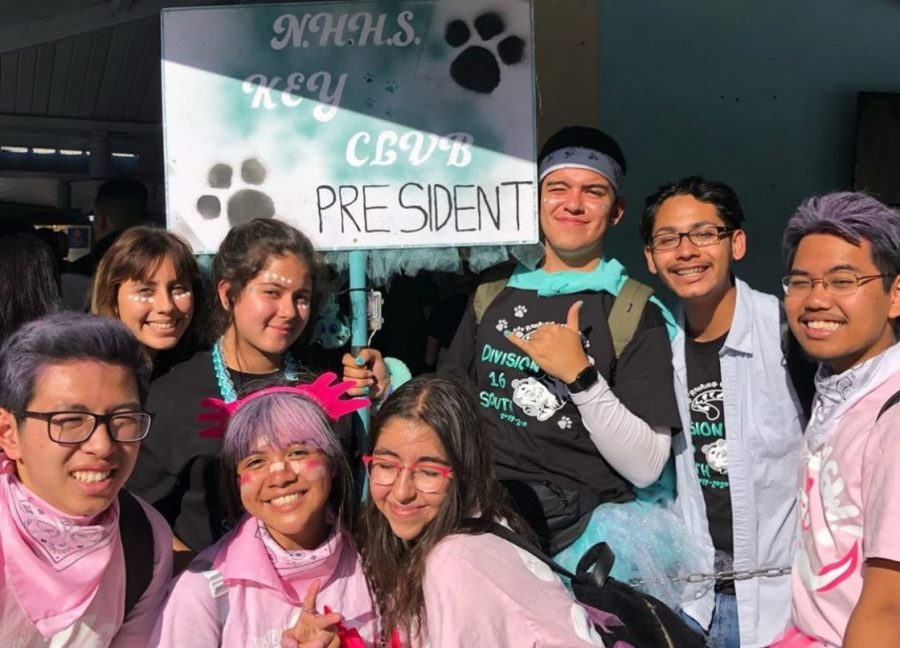 Key Club members at Fall Rally