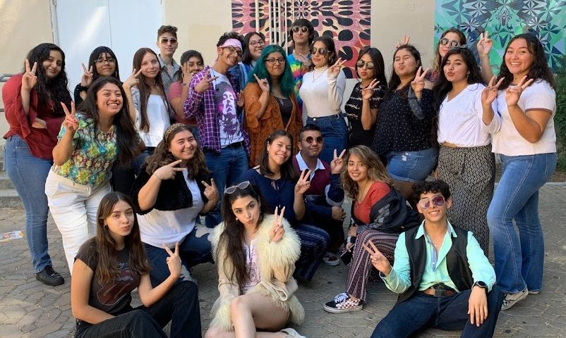 student council taking a trip to the past!!