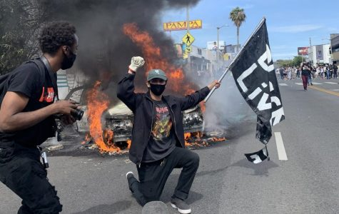 I Went to the Protest in Beverly Hills that you know as a Riot