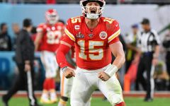 Patrick Mahomes of the Kansas of the  City Chiefs