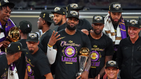 The Los Angeles Lakers, led by future hall-of-fame LeBron James, won their 17th championship in franchise history over the Miami Heat in 6 games.