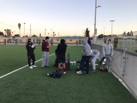 At just barely 6:30 in the morning, the Huskies are ready to put in the work, showing their commitment is undeniable.