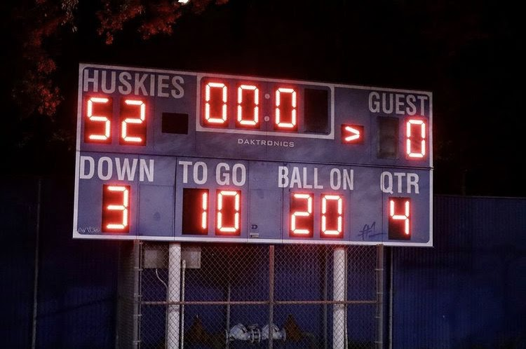 The Huskies kicked off their new era with an emphatic 52-0 win over the Monroe Vikings.